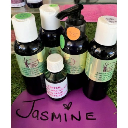 100ml Massage Oil Face & Hair-Jasmine & Apricot Kernal