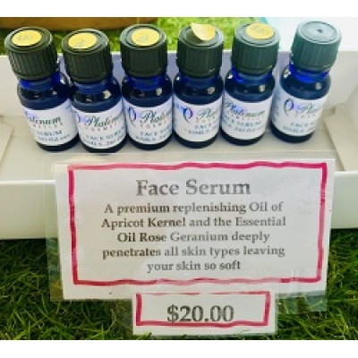 10ml Rose Geranium Face Serum